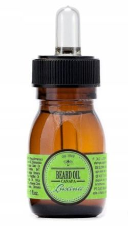 Olejek do brody LUXINA Beard Oil Canapa z olejem z konopi 30 ml